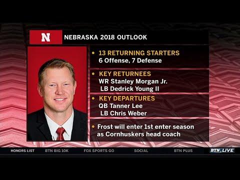 Scott Frost Previews the 2018 Season  Nebraska  Big Ten Football  BTN