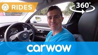 Volvo S90 2017 Saloon 360 degree test drive   Passenger Rides