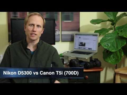 Nikon D5300 vs Canon T5i - Differences Explained Simply