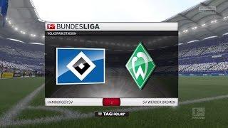 FIFA 17 Bundesliga Prognose | 12. Spieltag: HSV - SV Werder Bremen