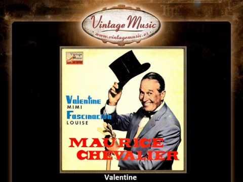 Maurice Chevalier -- Valentine (VintageMusic.es)