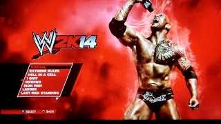WWE2K14 - Gameplay (PS3) Part 1