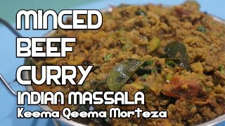 Minced Beef Curry Recipe - Indian Massala Keema Qeema