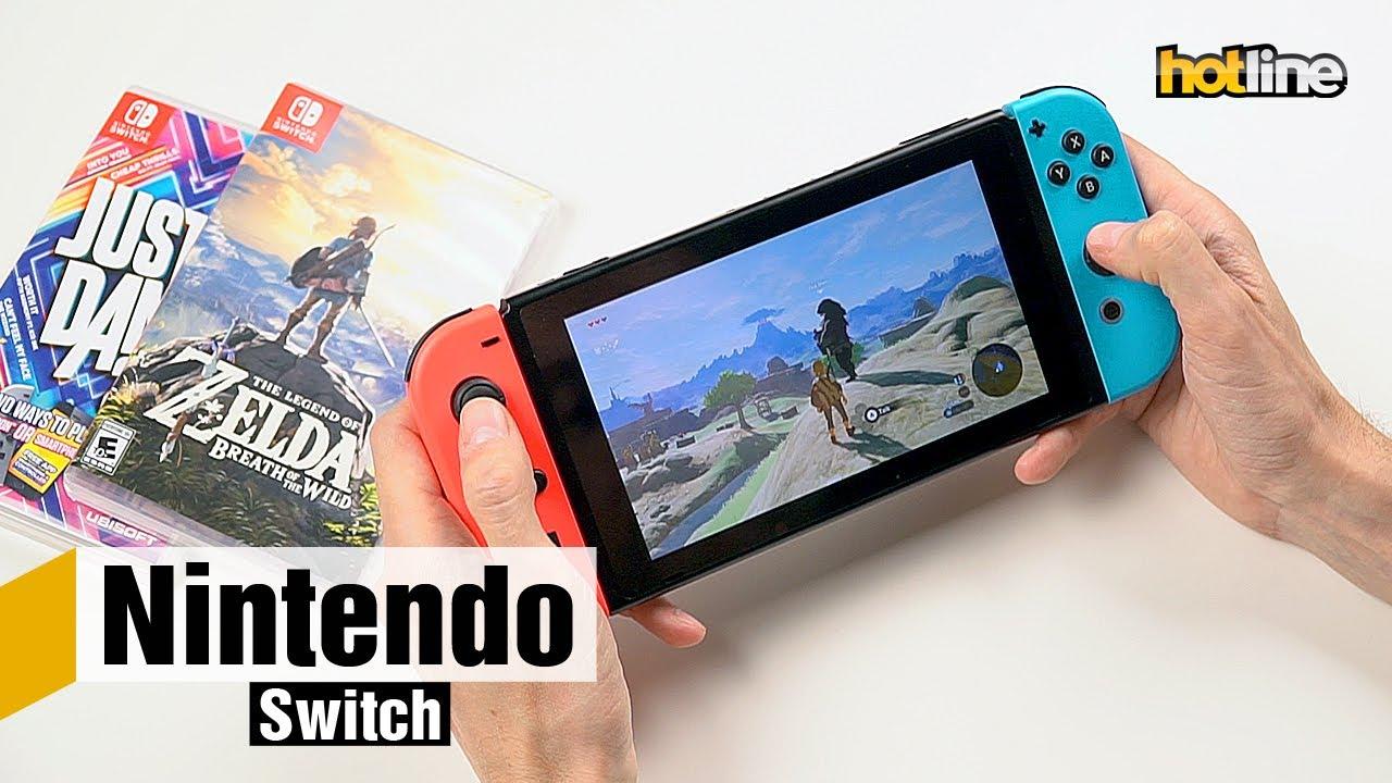 Nintendo Switch — игровая система «2-в-1» - YouTube