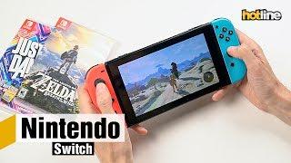 Nintendo Switch — игровая система «2-в-1»