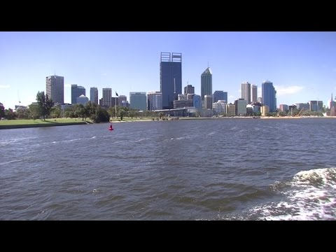 Fremantle to Perth on the Swan River WA