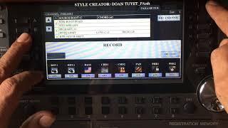 Tạo hiệu ứng quạt chả cho style Yamaha _ NTP 0939845008
