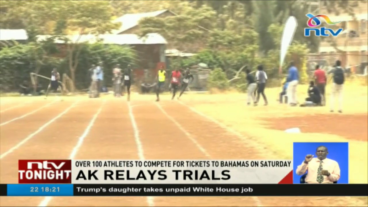 Over 100 athletes to compete in Athletics Kenya relays trials