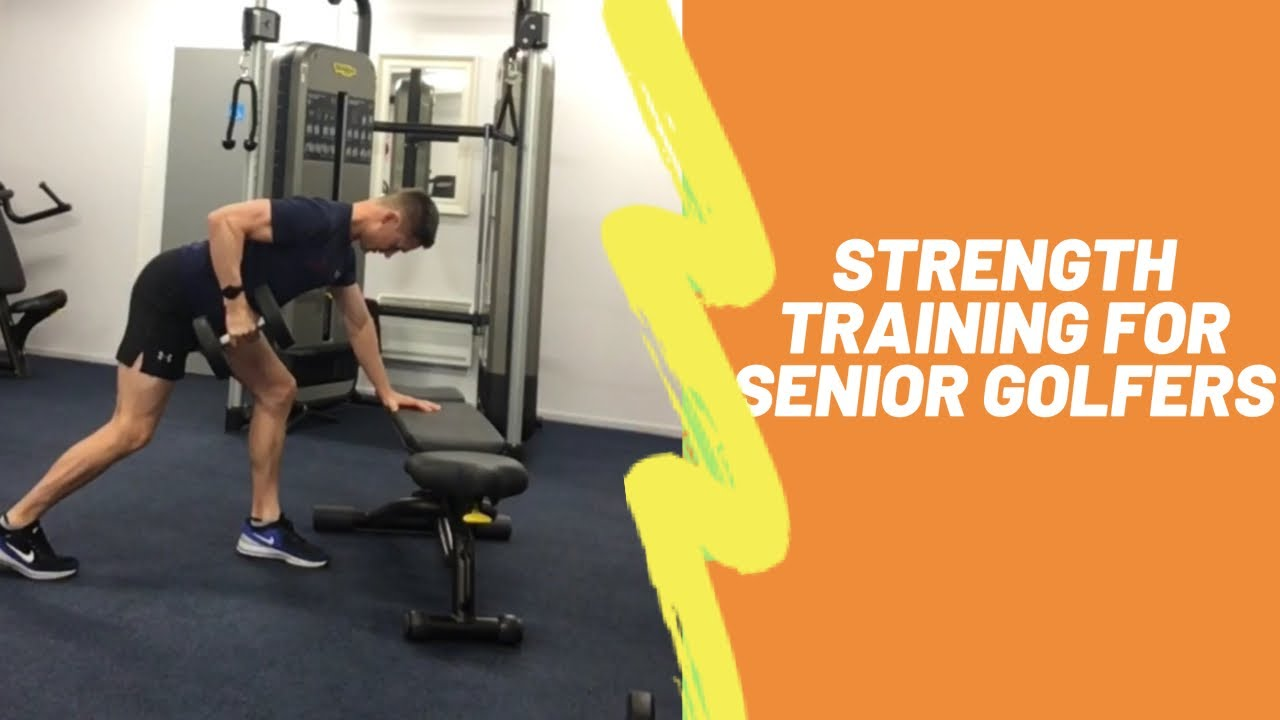 Senior Golfers Strength Training