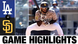 Dodgers vs. Padres Game Highlights (4/18/21) | MLB Highlights