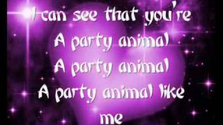 PARTY ANIMAL Akon ft. David Guetta (LYRICS ON SCREEN).flv