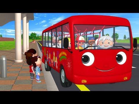 видео: детские песенки | Колёса у автобуса | мультфильмы для детей | Литл Бэйби Бум