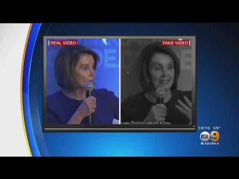 Videos Doctored To Make House Speaker Nancy Pelosi Look Like She's Slurring Her Words