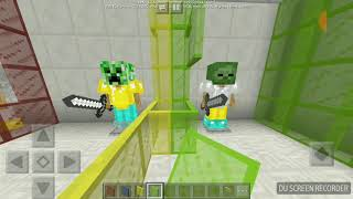 Minecraft build pvp arena 70% done.....