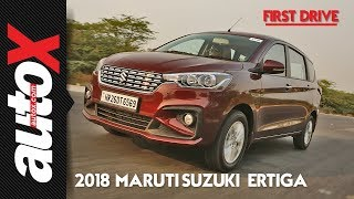 2018 Maruti Suzuki Ertiga Automatic & Manual Review | First Drive | autoX