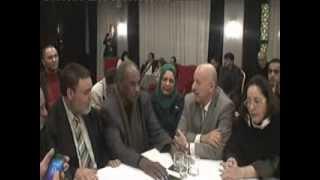 المجتمع المدني الواسع بالدار البيضاء يستقبل الوفد الجزائري يوم7.1.2014