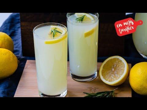 Sadece 2 Limon ile En Kolay Limonata Nasıl Yapılır? Ev Yapımı Doğal Limonata Tarifi - İçecek Tarifi