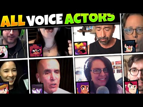 All Brawl Stars Voice Actors In Real Life