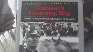 BOOK REVIEW,GERMANYS LIGHTNING WAR,INVASION OF POLAND TO EL ALAMEIN,1939-1943