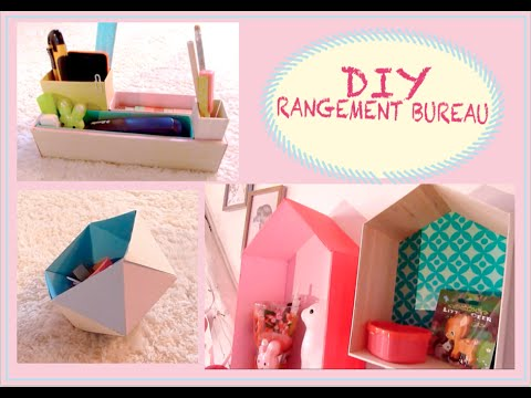 diy spring rangement bureau make up youtube. Black Bedroom Furniture Sets. Home Design Ideas