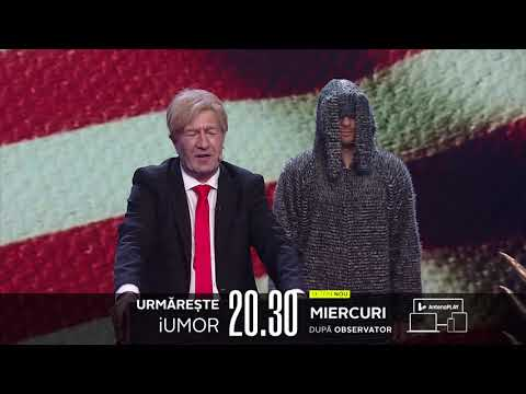Bun găsit, România! Donald Trump ne face o vizită, MIERCURI, de la 20:30, la iUmor doar pe Antena 1