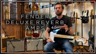 Fender Deluxe Reverb Amps
