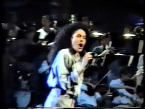 "Nina ""Nacida Para Amar"" Ensayo Eurovision 1989"