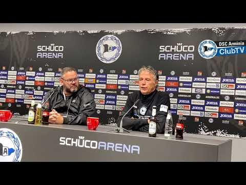 #33 Karlsruher SC: Die Pressekonferenz vor dem Spiel