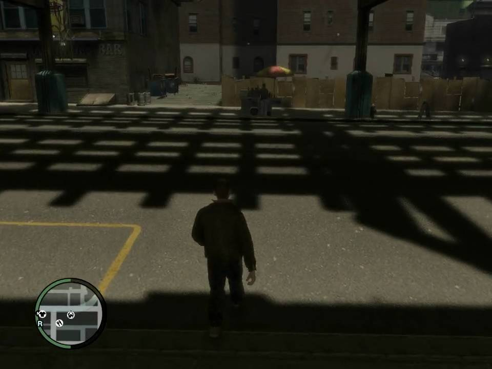 GTA IV Shadow Glitch - Rapid Flickering | FunnyCat TV