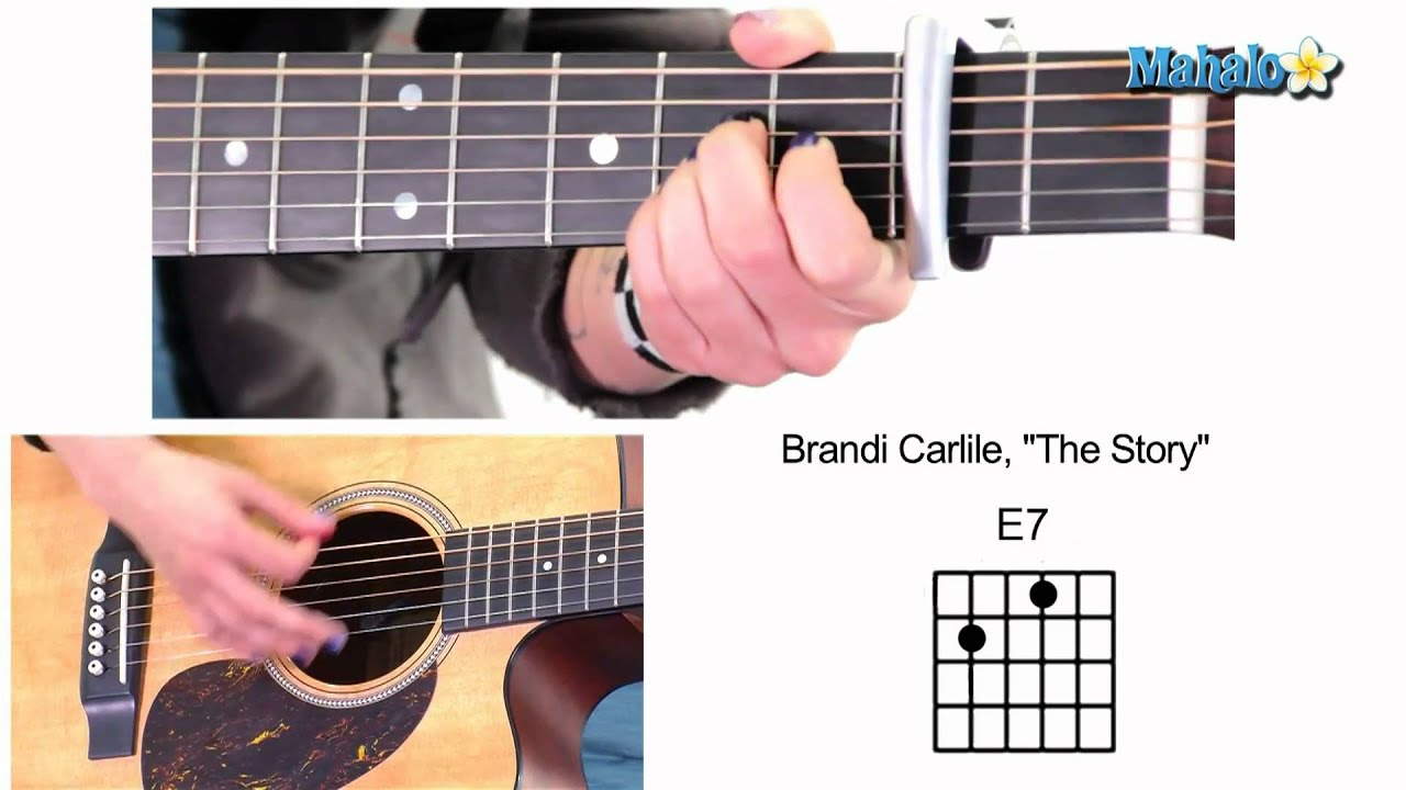 How To Play The Story By Brandi Carlile On Guitar Youtube