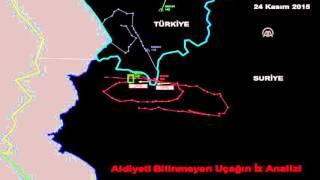 الأركان التركية تنشر تسجيلاً يؤكد إنذار الطائرة الروسية