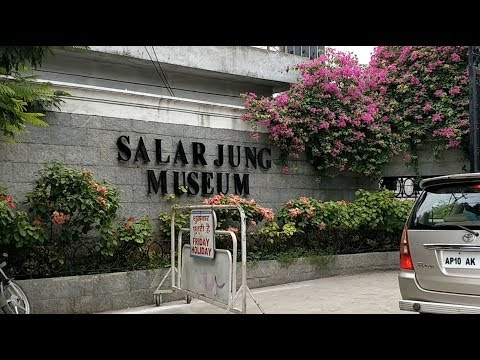 Salarjung Museum in Hyderabad Full Video Telangana India