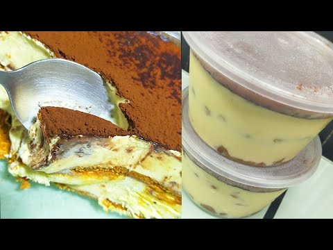 Graham Tiramisu Cake/Filipino Style Tiramisu/Pangnegosyo Idea with Costing