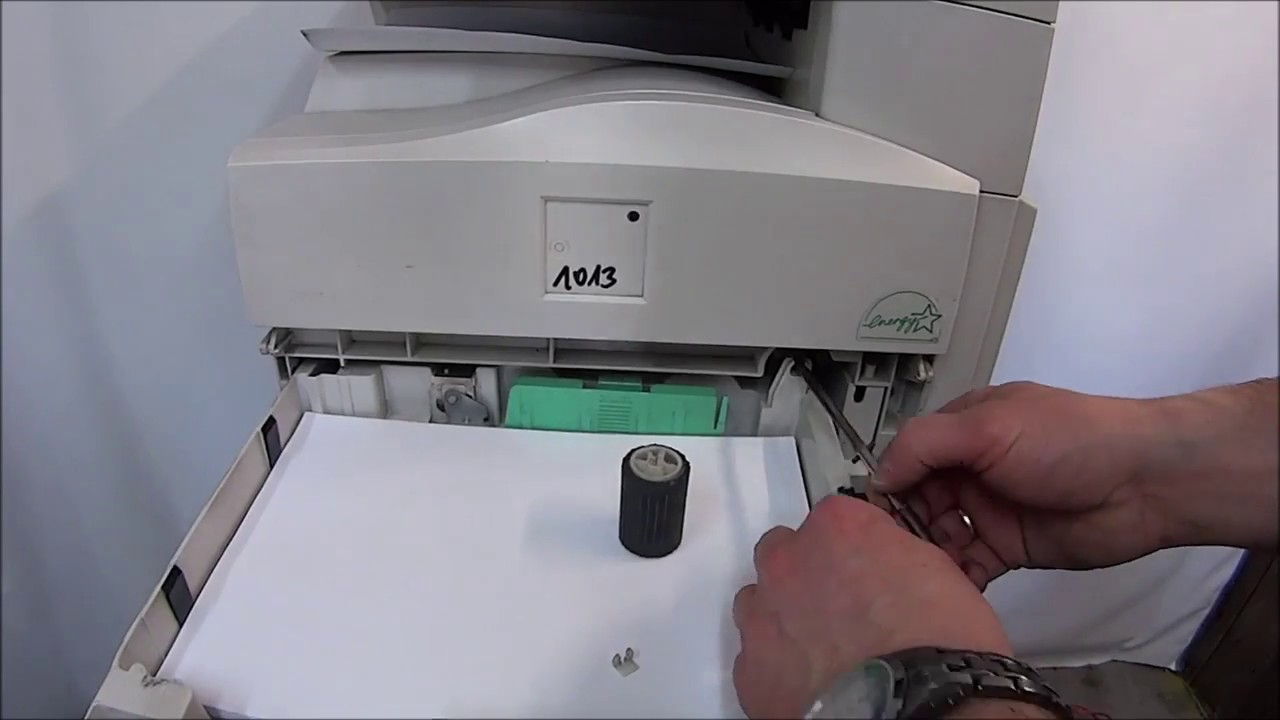 PAPER JAM Feed Roller COPIER RICOH MP161 MP201 TUTORIAL