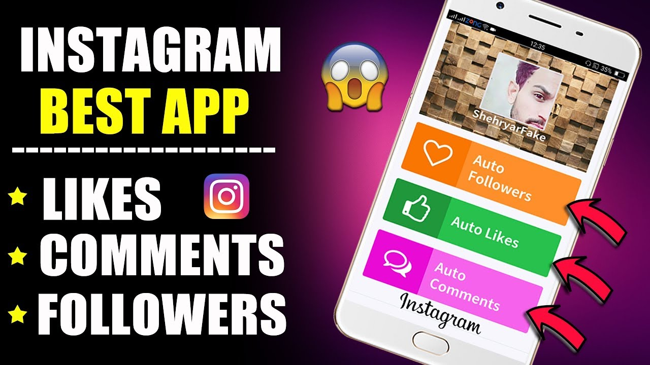 Best App For INSTAGRAM Followers , Likes , comments - How to increase  INSTAGRAM Followers 2018
