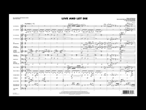 Live and Let Die arranged by Paul Murtha & Will Rapp
