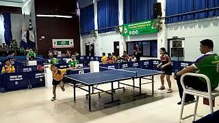 Palarong Pambansa Table Tennis Team Event Championchip  NCR vs Zamboanga