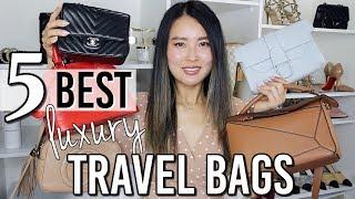 Top 5 best luxury travel bags 2019   Loewe puzzle bag, Senreve Aria belt bag, Gucci etc