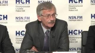 Пресс-конференция на тему «Проблемы ЖКХ или как молодые кадры поднимут отрасль?» (информационное агентство «Национальная служба новостей», г. Москва)