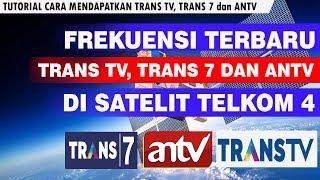 FREKUENSI TERBARU TRANS TV, TRANS 7 DAN ANTV