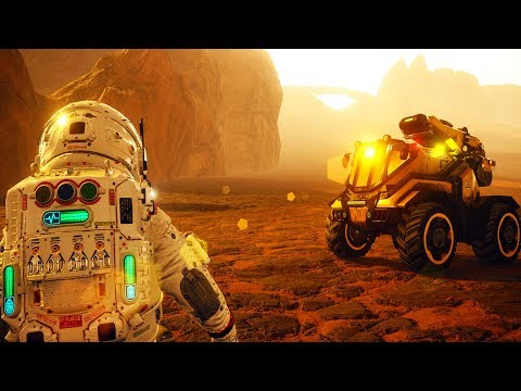 SURVIVING AND COLONIZING ON THE SURFACE OF MARS! - JCB Pioneer: Mars Early Access Gameplay