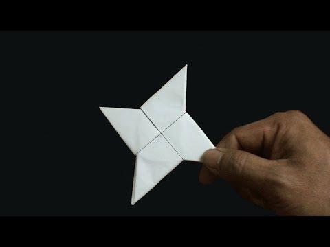 Cách Gấp Phi Tiêu Ninja Đỉnh Nhất - How To Make a Paper Ninja Star