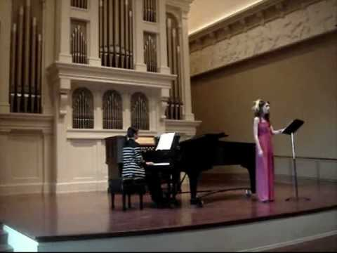 Lauren Maxwell Graduate Recital Part 3 of 7