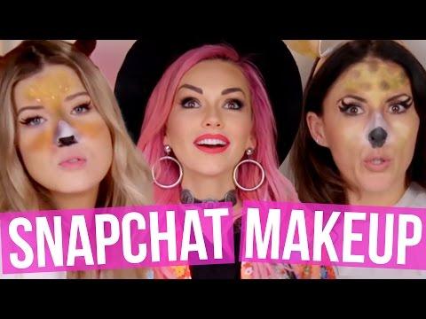 Snapchat Makeover w/ KANDEE JOHNSON (Beauty Break)