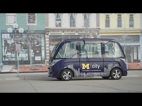Inside Mcity, the University of Michigan's automotive proving ground