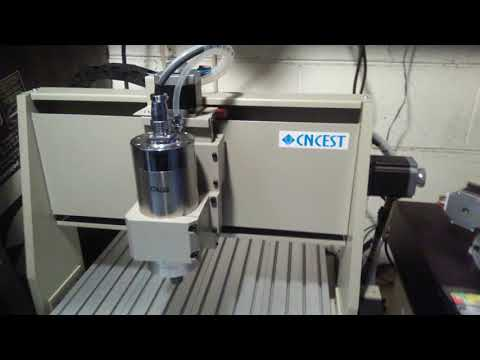 6040 4Axis Cnc Router got it running at Jackshop - YouTube