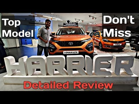 Tata Harrier Detailed Review — Best SUV under Rs 20 lakh ? Must Watch / Plus Drive