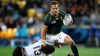 All Springbok Tries at Rugby World Cup 2011