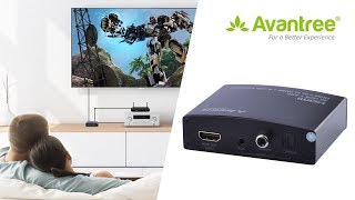 Video User Guide for Avantree HDMI Audio Extractor