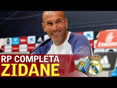 Málaga-Real Madrid   Rueda de prensa previa Zidane   Diario AS